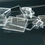 squares cut plexiglass